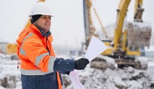 winter weather impacting construction