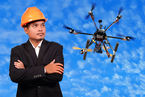 The Rise of Drones on Construction Sites