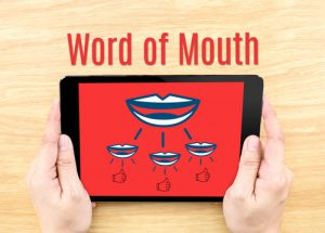 word of mouth advertising