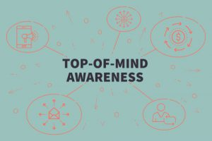 top of mind awareness