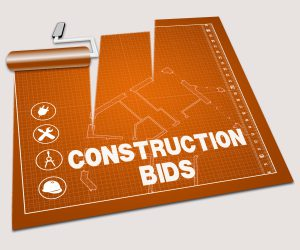 bidding on construction projects