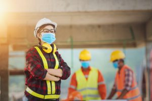 construction firms and pandemic mandates